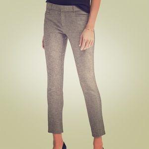 Banana republic Sloan skinny fit charcoal pants.